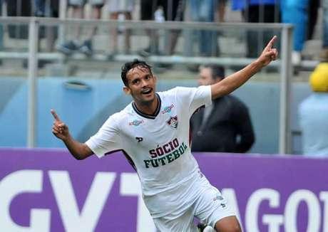 Scarpa vibra com gol contra o Grêmio (Foto: Ricardo Rímoli/Lancepress!)