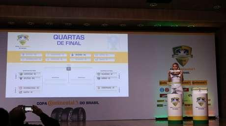 Sorteio na CBF definiu os confrontos da fase quartas de final da Copa do Brasil