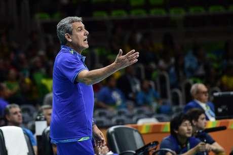 O técnico José Roberto Guimarães, da Seleção Brasileira feminina de vôlei