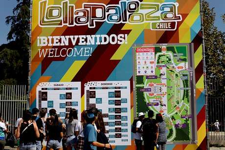 Por error, Metallica confirmó que estará en Lollapalooza Chile
