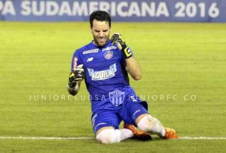 Junior Barranquilla está nas quartas de final (Foto: Reprodução/Twitter)