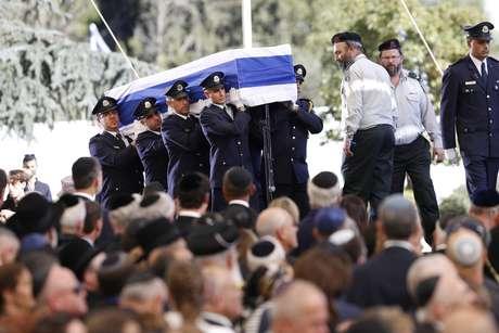 Líderes del mundo despidieron al estadista israelí Shimon Peres en Jerusalén