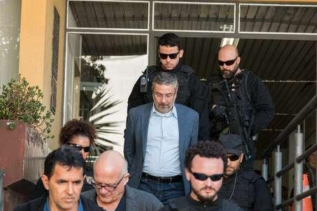 Antonio Palocci está preso na carceragem da Polícia Federal em Curitiba desde setembro do ano passado.