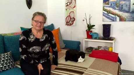 """""""Somos uma pequena comunidade e nos damos bem"""", diz Ilona Barber"""
