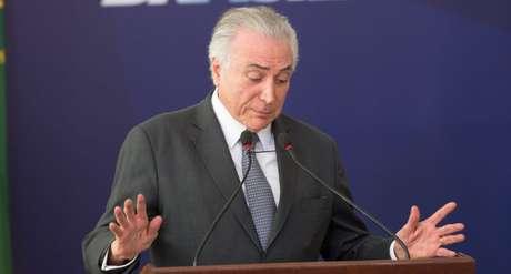 O governo de presidente Michel Temer foi avaliado como ruim ou péssimo por 39% dos brasileiros entrevistados na pesquisa CNI/Ibope