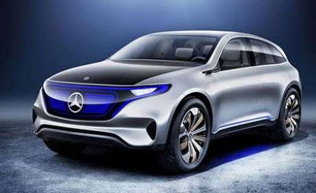 O carro elétrico futurista da Mercedes