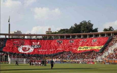 Torcida do Flamengo no Pacaembu (LANCE!)