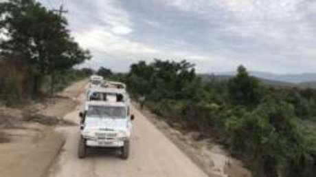 Abertura de estradas deve facilitar entrega de comida e remédios em cidades no sul do Haiti
