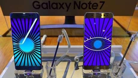 Aparelho da Samsung recém-lançado com problemas de superaquecimento