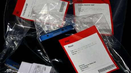 Recall mundial do Note 7 afetou 2,5 milhões de aparelhos