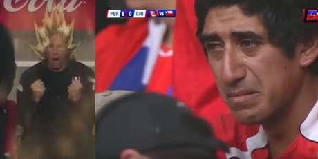 Vidal fue el héroe en Chile para vencer a Perú