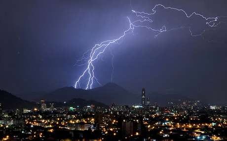 Pronostican precipitaciones y tormenta eléctrica para este fin de semana en Santiago