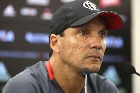 Zé Ricardo fez avaliação de derrota do Fla (Foto: Gilvan de Souza/Flamengo)