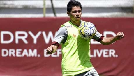 Osvaldo marcou cinco gols, nenhum neste Brasileiro em dez jogos disputados(Foto: MAILSON SANTANA/FLUMINENSE FC)
