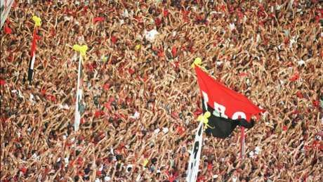 Torcida do Flamengo vai lotar o Maracanã na volta do time ao estádio (Foto: Julio Cesar Guimar)
