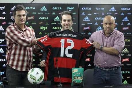 Camisa do Fla ganhará novo patrocinador (Foto: divulgação)