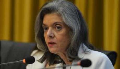 A ministra Carmen Lúcia, do STF