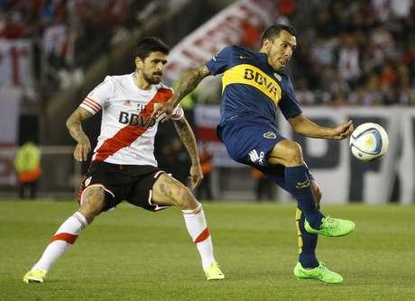 Clássico Boca Juniors x River Plate é um dos destaques do futebol argentino