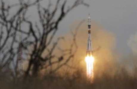A Soyuz MS-02 levou três tripulante à Estação Espacial Internacional