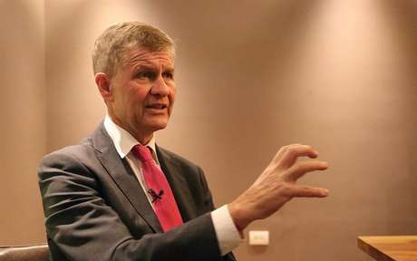 Erik Solheim, diretor-executivo do Programa das Nações Unidas para o Meio Ambiente (PNUMA)