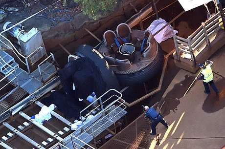 Bote tombou provocando a morte de quatro pessoas no parque temático australiano