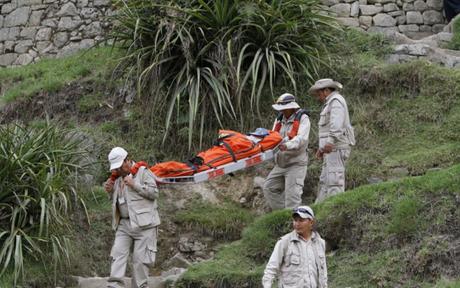 Caída de rayo en parque arqueológico Machu Picchu deja dos personas heridas