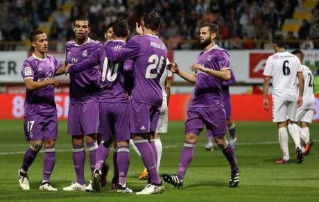 O Real Madrid venceu o Leonesa (Foto: Cesar Manso / AFP)