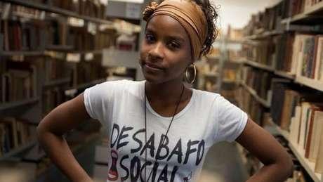 Monique Evelle criou a rede Desabafo Social, que trabalha com educação e formação social, sobretudo de jovens negros, em 13 Estados