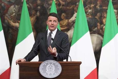 Matteo Renzi, primeiro-ministro da Itália