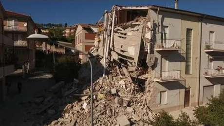Terremoto atingiu cidade de Nórcia, na região central da Itália