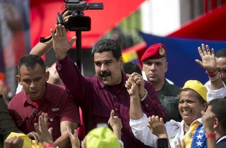 Maduro sostuvo encuentro con Monseñor Celli y Thomas Shannon