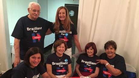 Margareth Shepard arrecadou fundos para a campanha de Hillary Clinton