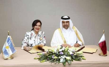Argentina y Qatar acuerdan crear un fondo por 1.000 millones de dólares