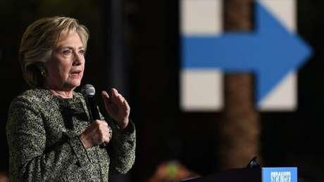 Hillary pode se tornar a primeira mulher a governar os Estados Unidos.