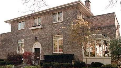 Casa em que Hillary passou a infância em Park Ridge, Illinois