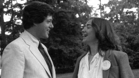 Bill e Hillary se casaram em 1975