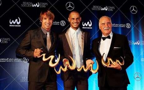 Andrade recebeu premiação histórica (Divulgação)