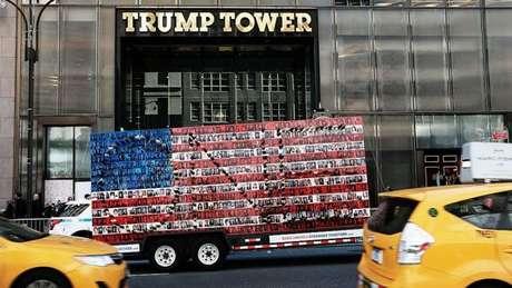 A Trump Tower, em Manhattan, é o quartel-general do milionário empresário e aparece em um dos filmes do 'Batman'