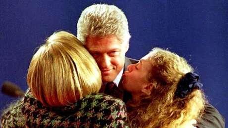 Hillary foi a primeira primeira-dama eleita para um cargo público nos Estados Unidos