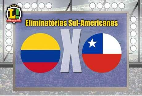 Colômbia empata com Chile e fica mais longe da liderança