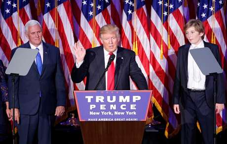 Trump prometeu ser 'presidente para todos os americanos'