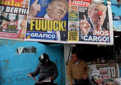 Reações de jornais mexicanos à eleição de Donald Trump nos EUA