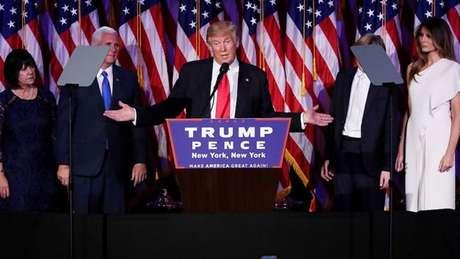 Trump deve ser duro com imigrantes, protecionista nas relações internacionais e contrário a acordos de combate à mudança climática.