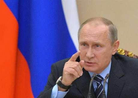 Vladimir Putin enviou mensagem para Donald Trump