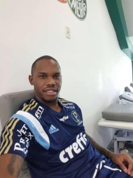 Patrick Vieira fez tratamento na Academia de Futebol ao longo da temporada (Foto: Reprodução/Facebook)