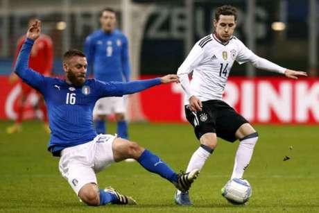 Veja imagens de Itália x Alemanha