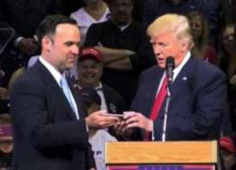 Scavino comandou as atividades de Trump em redes sociais
