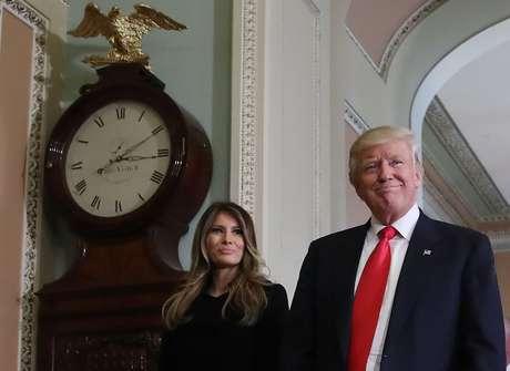 Melania é casada com Trump há 11 anos e eles têm um filho