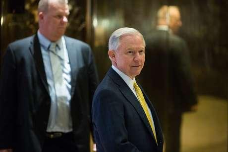 Sessions foi um dos aliados mais próximos de Trump na campanha