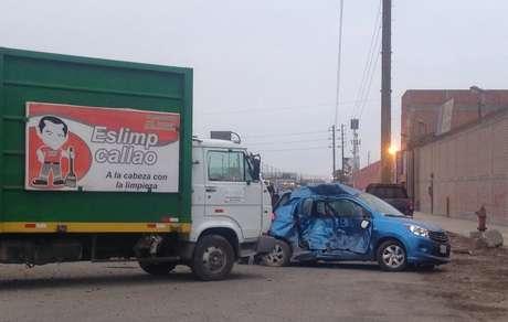 Dos muertos dejó aparatoso accidente de tránsito en el Callao